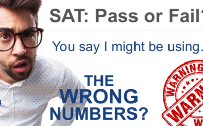 SAT (comparing the correct numbers)